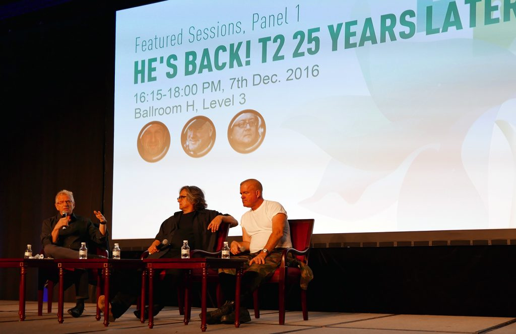 Featured Sessions Title: He's Back! T2 25 Years Later.