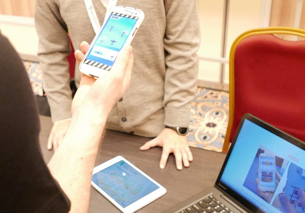 Symposium On Mobile Graphics And Interactive Applications Demo: Back-Mirror: Back-of-Device One-Handed Interaction on Smartphones